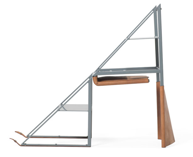Stepladder Chair by Stephen Kenn Studio