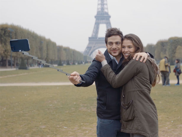 Stikbox - Selfie Stick Case for iPhone