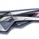 Futuristic Stingray Spacecraft Design Proposal for Disney