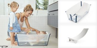 Stokke Flexi Bath – Foldable Baby Bath for Both at Home and Traveling