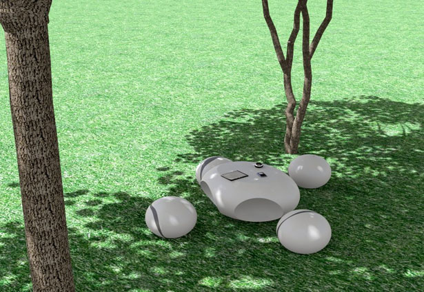 Stone Table Was Inspired by Those White Rounded Stones of Versilia River