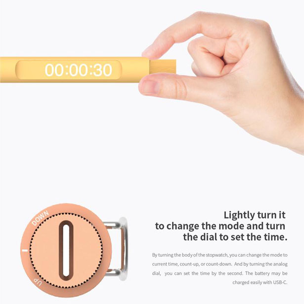 Stopwatch Pen by Yu Jeong Choi