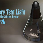 Story Tent Light For Bedtime Story Creates Precious Moments for Parents and Children