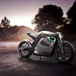 STR CAF 13 Concept Motorcycle: Last Roar of Petrol Engine Before The Silence