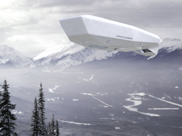 Stratocruiser Future Lifestyle Zeppelin by NAU