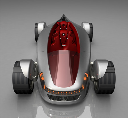 StreamLife Car Concept with Hydrogen Fuel To Reduce Air Pollution