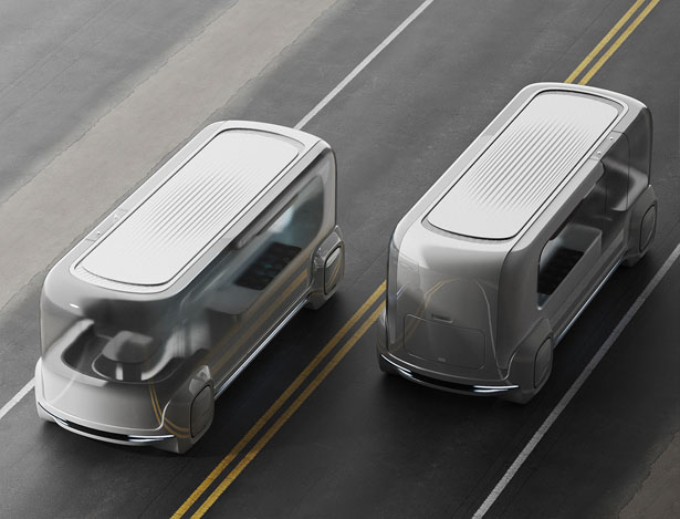Streat Self-Driving Food Delivering Platform by Lee Sungwook - Your Food Is Prepared On-The-Go
