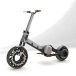 Street Hopper Scooter Features A Compact And Lightweight Construction For Congested Future Streets