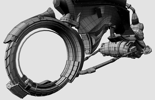 Strider MarkVII Futuristic Vehicle by Rob GilesRitter