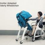 Stroller Adapted Elderly Wheelchair Offers Better Interaction Between Wheelchair-bound Grandparent and Their Grandchildren