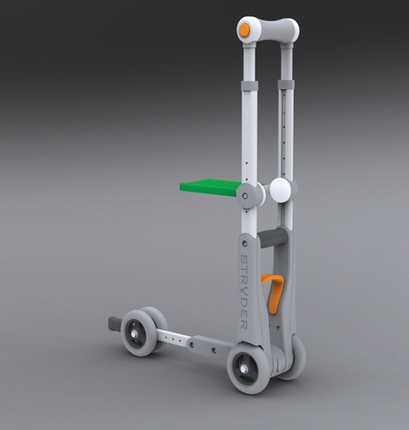 Stryder Hybrid Crutch Can Perform as a Knee Scooter