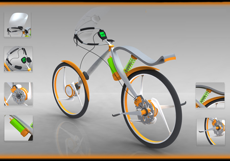 Styling Bicycle Focuses of Fashionable Cycling on The Road