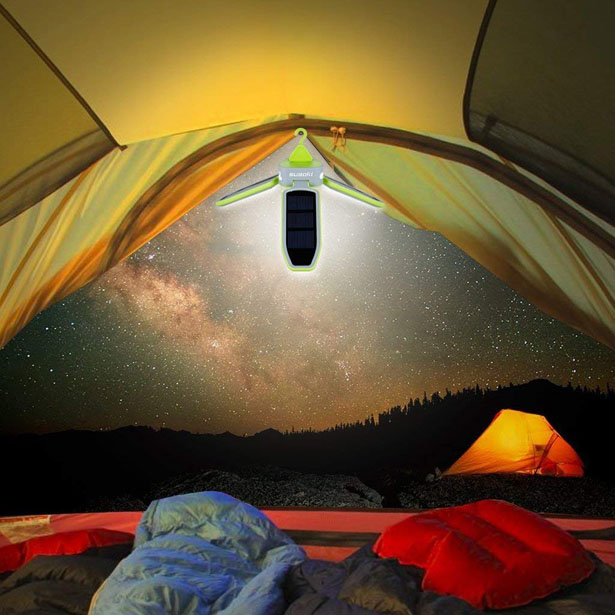 SUAOKI Collapsible Clover Style 18 LED Lantern