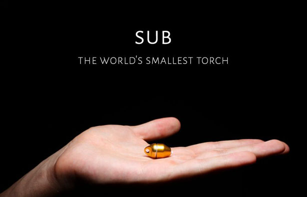 Sub World's Smallest Torch by Malboro & Kane