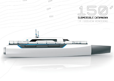 Submerge 150 Submersible Catamaran