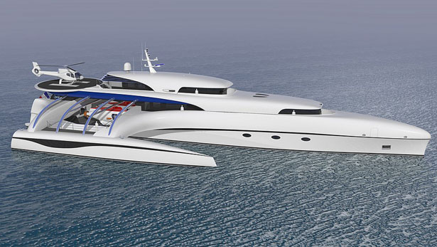 Subsee Concept Yacht by Sylvain Viau Design