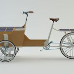Sun Bike : Modern and Stylish Green Cargo Bike