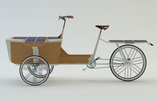 Sun Bike Modern And Stylish Green Cargo Bike Tuvie