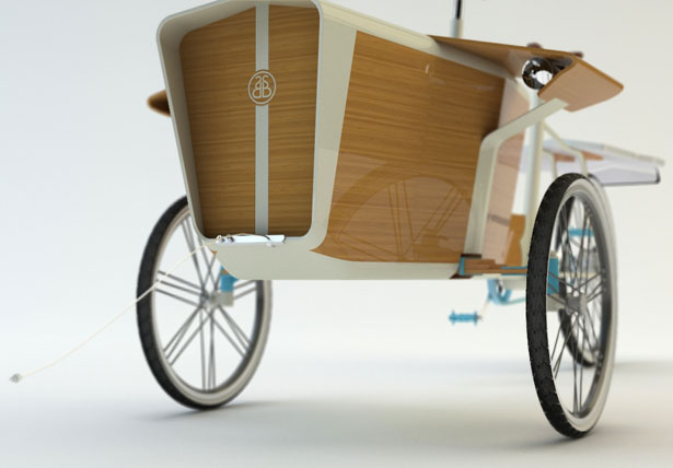 Sun Bike Green Cargo Bike Powered by Solar Energy by Romain Duez, Gauthier Richard, Pierre Vioules, Rémi Legrain, Xavier Lefol, Elodie Fauvelet