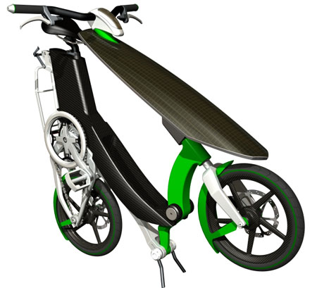 """""""Sunny Day"""" Bike with Solar Panel"""