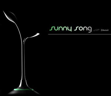 """""""Sunny Song"""" Eco Friendly Bluetooth Speaker System"""