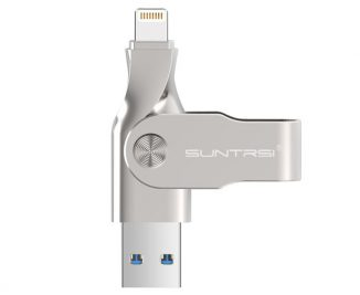 Suntrsi iPhone USB Pen Drive Allows You Transfer Data Between iOS and PC without iTunes
