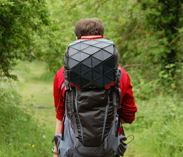 SunUp Solar Backpack by Bradley Brister