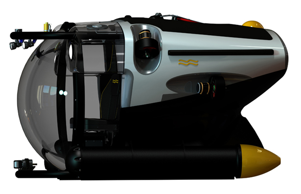 Super Yacht Submersible 3 by U-Boat Worx