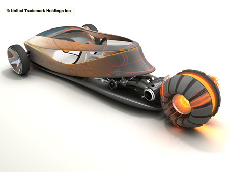 super hero car concept