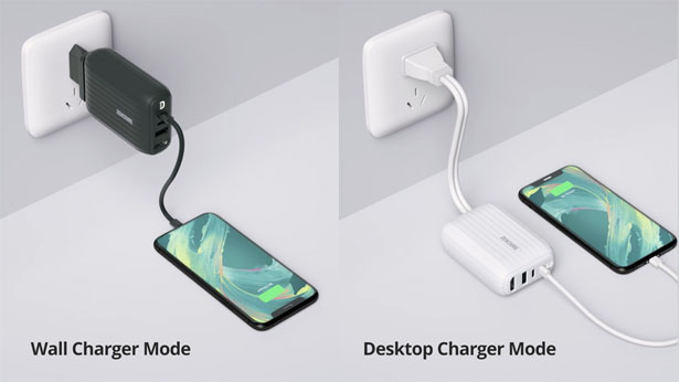 SuperHub: Card-Sized Charging, Data & Video Hub with Dual PD