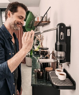 SUPERKOP Hand-Powered Espresso Maker – No Electricity Needed
