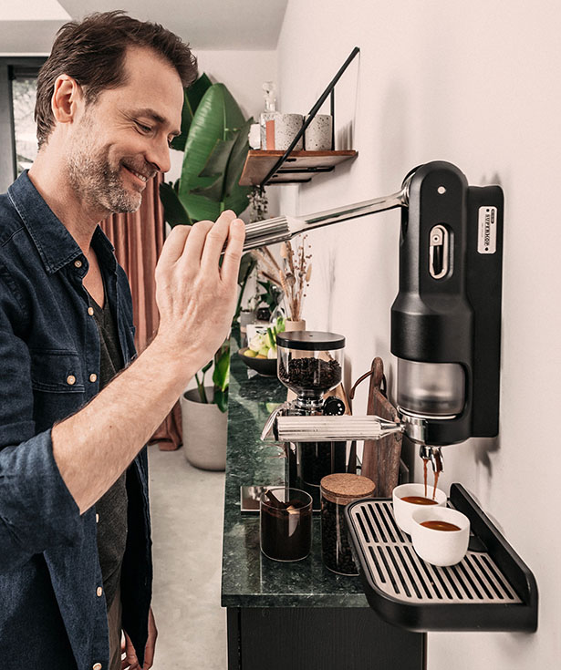 SUPERKOP Hand Powered Espresso Maker by Springtime Design
