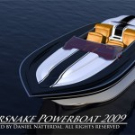 Supersnake Powerboat with V8 Engine by Daniel Nätterdal