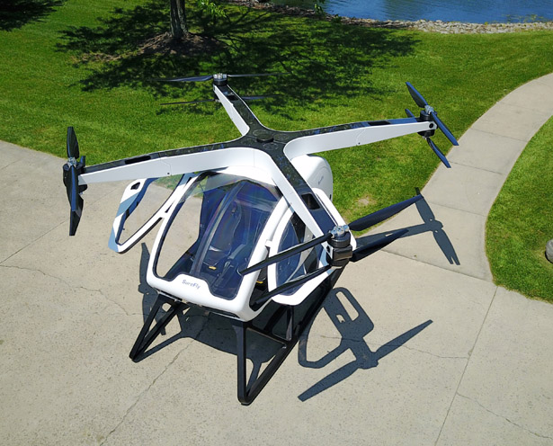 Workhorse Surefly Personal Helicopter