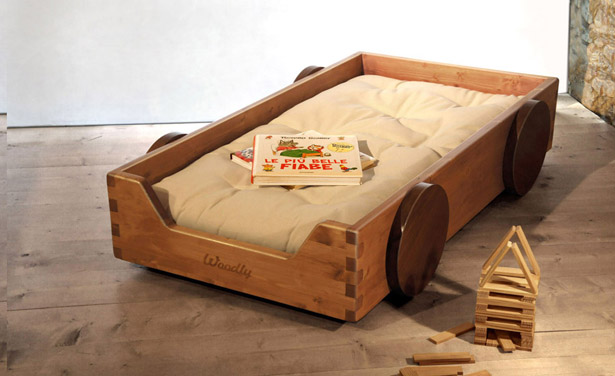 Surf - Montessori Floor Bed Line by Woodly
