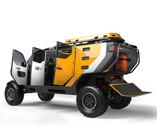surgo 4x4 mountain rescue vehicle offers offroad