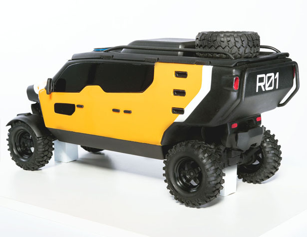 SURGO 4X4 Mountain Rescue vehicle by 2Sympleks
