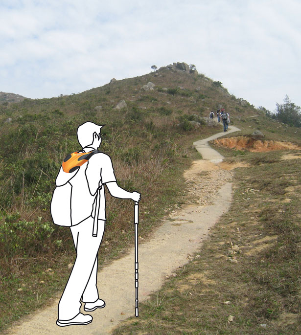Survival Hiking Device