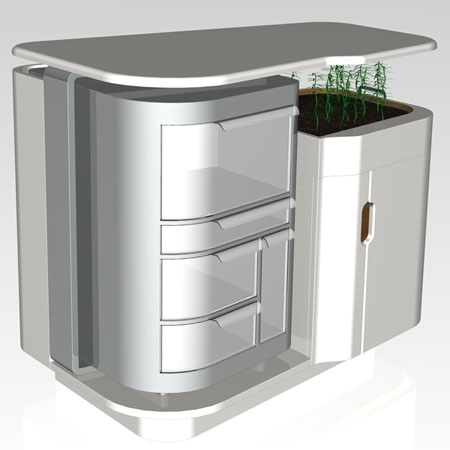 sustainable kitchen from dyson student award