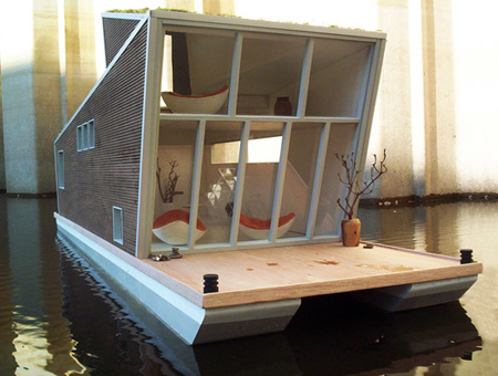 Schwimmhaus : Floating House by Confused Direction