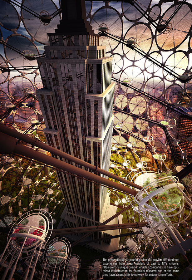 Re-Cover Sustainable Skyscraper Enclosure by Soomin Kim and Seo-Hyun Oh