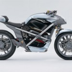 Suzuki Crosscage Concept Motorcycle with Hydrogen Powered