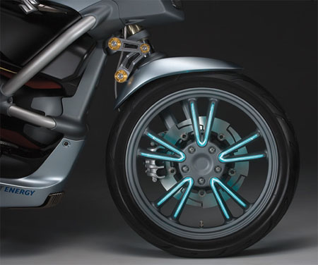 crosscage motorcycle from suzuki with hybrid technology