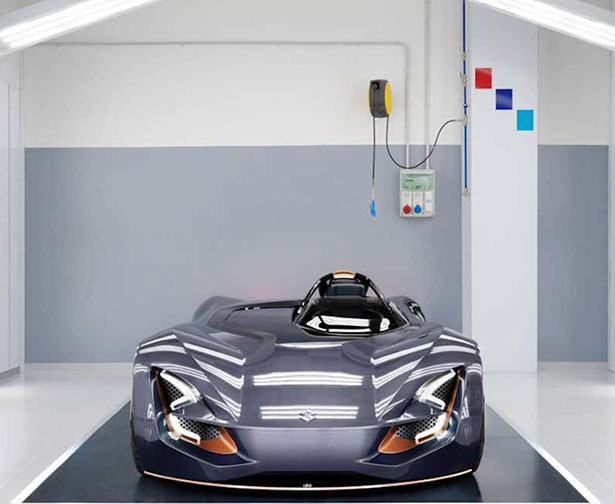Suzuki All Electric Misano Concept Car Was Inspired by Motorcycles