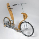 Svepa Bike : Combination of Plywood and Aluminum Creates Elegant Bike