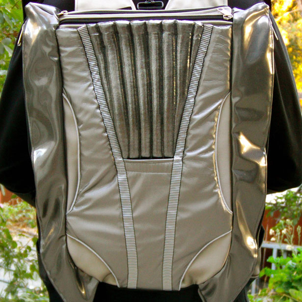 Swack Fusion Pack Gen 2 Sweater/Vess Backpack Design by Terence Simmons