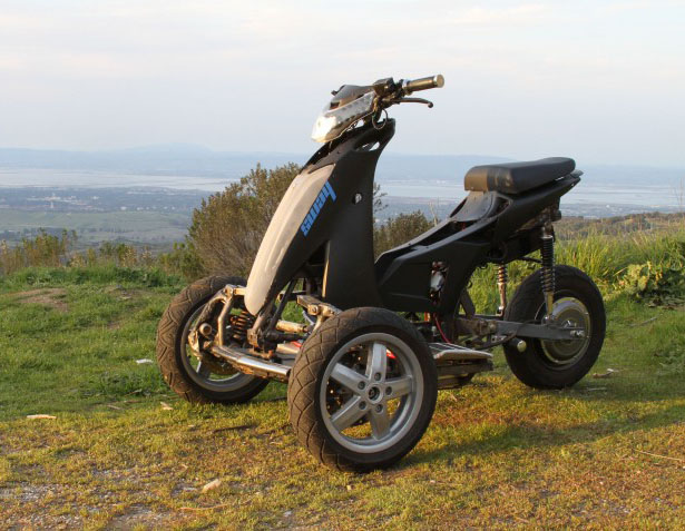 Sway Motorsports Three Wheel Electric Scooter