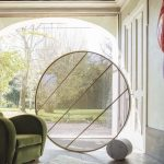 Mogg Swing Circular Metal for Space Divider