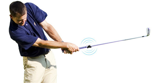 Swingbyte Device for Golfer