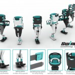 Swingo Walking Aid : Hands-Free Walking Aid for A Temporary Leg-Injured User